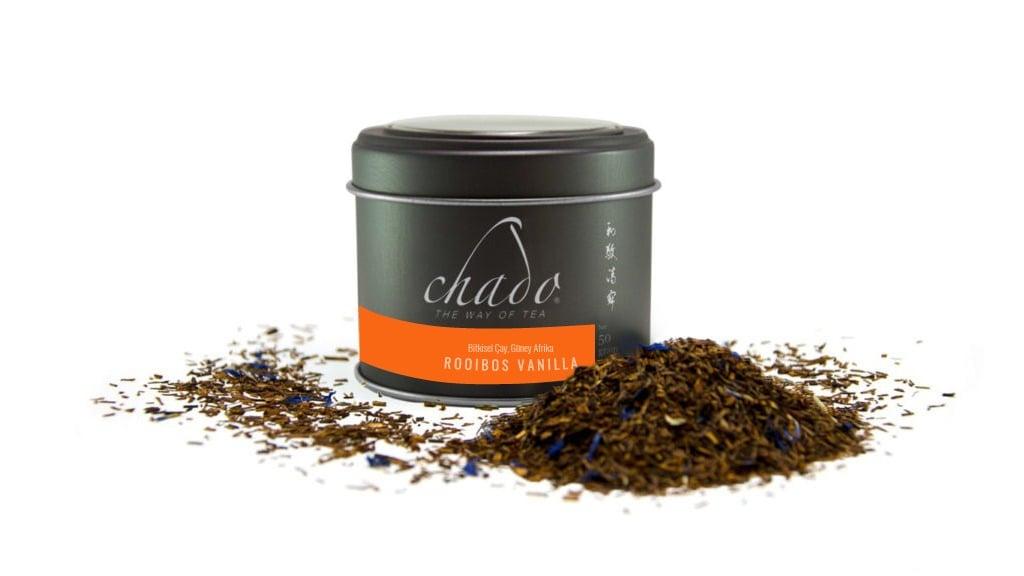 ROOIBOS VANILLA BİTKİSEL ÇAY. GÜNEY AFRİKA. Vanilyalı Rooibos Çayı (50 g)