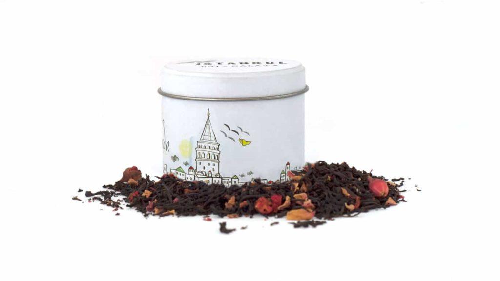 CHADO İSTANBUL No: 1 Güllü Siyah Çay