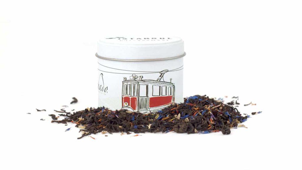 CHADO İSTANBUL No: 2 Lavantalı Siyah Çay