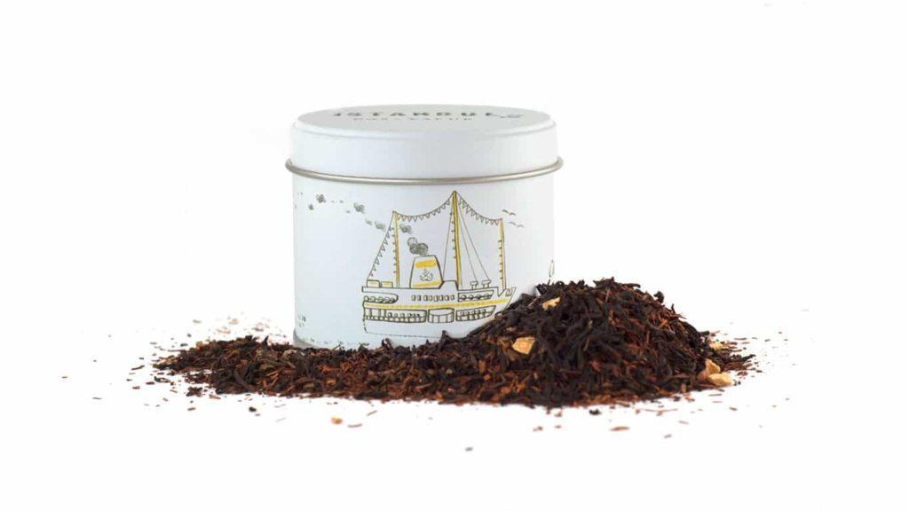CHADO İSTANBUL No: 3 Baharatlı Siyah Çay.