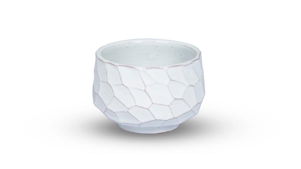 Beyaz Matcha Kasesi (Chawan)