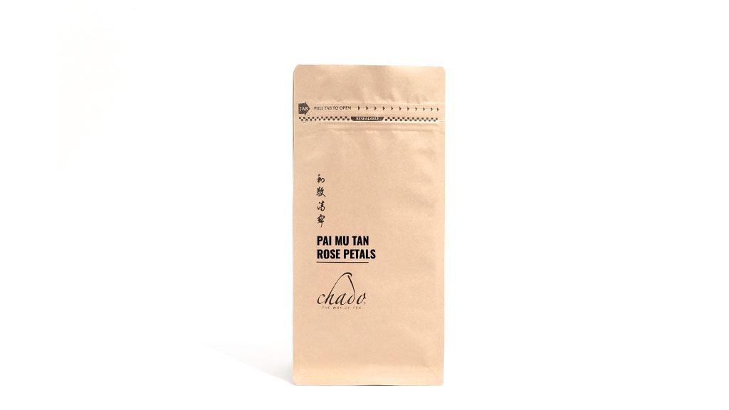 PAI MU TAN ROSE PETALS 200 g BEYAZ ÇAY. ÇİN. Saf Beyaz Çay. (200 gr)