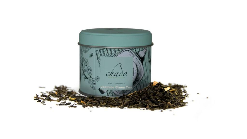 JASMINE GREEN SUSHICO DESIGN YEŞİL ÇAY. ÇİN. Yaseminli Yeşil Çay. (50 g)