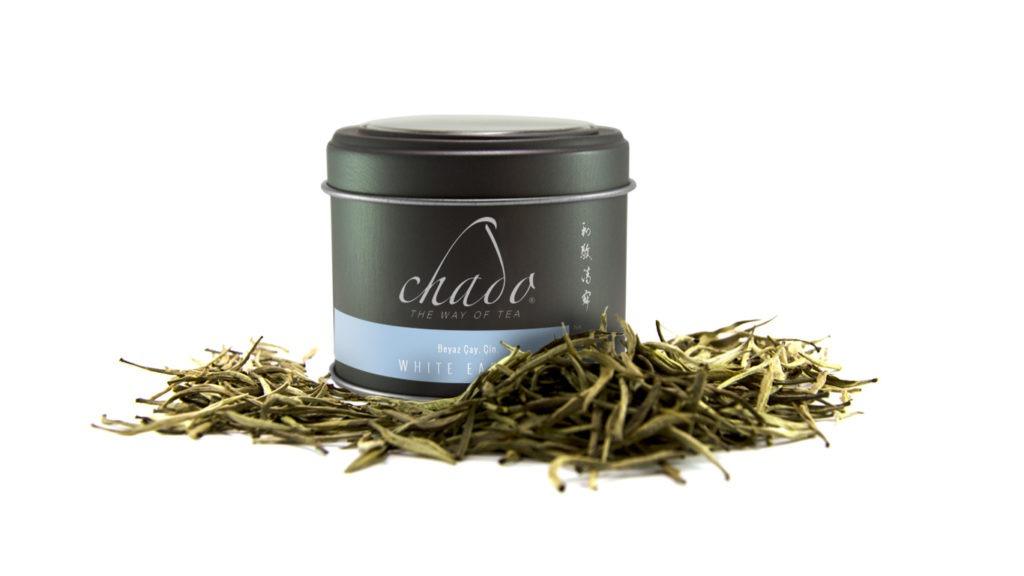 WHITE EARL GREY BEYAZ ÇAY. ÇİN. Bergamotlu Beyaz Çay. (50 g)