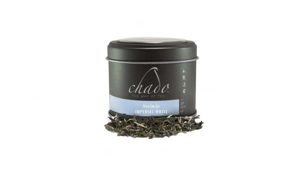 IMPERIAL WHITE BEYAZ ÇAY.ÇİN Saf Beyaz Çay. (50 g)