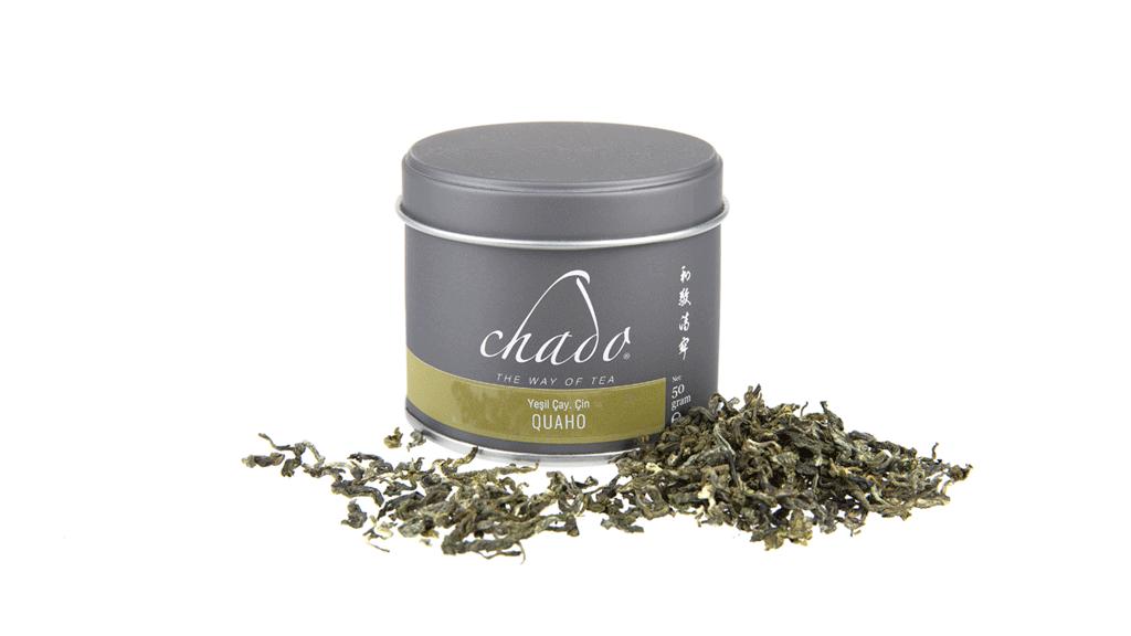 QUAHO YEŞİL ÇAY. ÇİN. Quaho Yeşil Çay. (50 g)