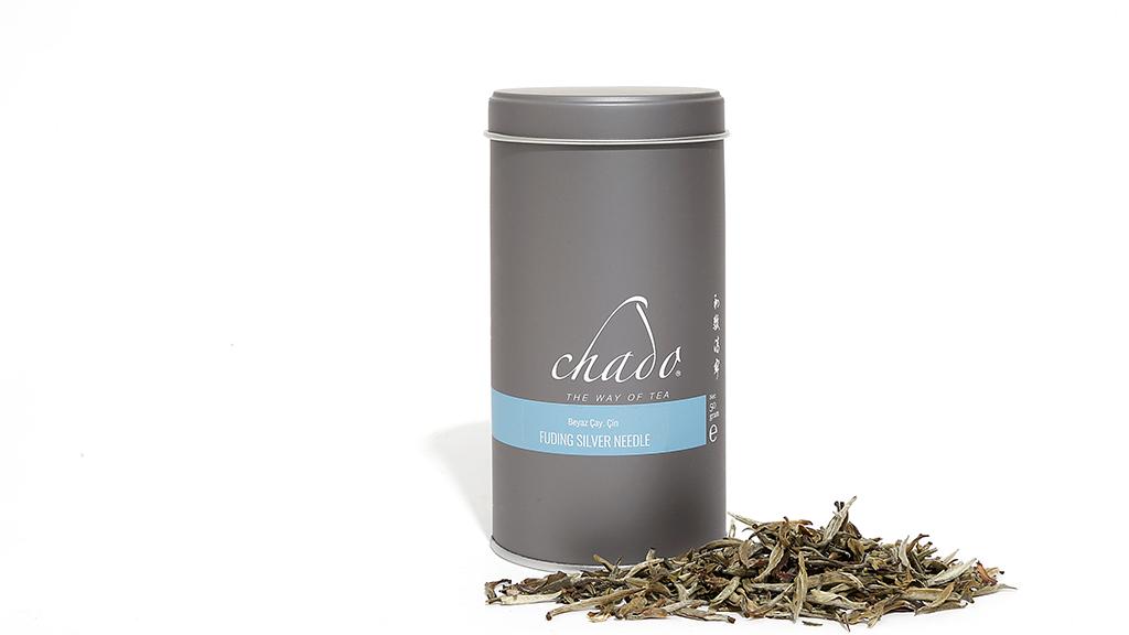 FUDING SILVER NEEDLE BEYAZ ÇAY BEYAZ ÇAY. ÇİN. Saf Beyaz Çay. (50 g)